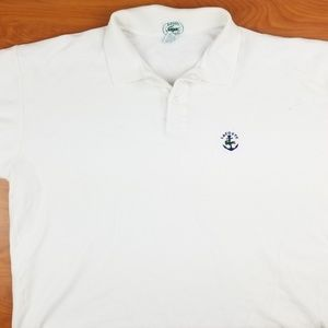 Vintage Lacoste IZOD Short Sleeve White Polo Shirt